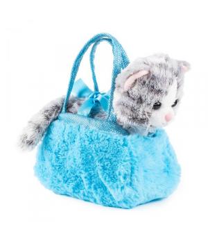 """Мягкая игрушка """"Котенок в сумочке"""" SUMK0"""
