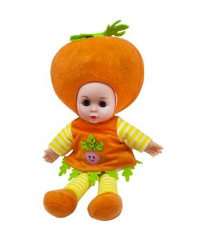Мягконабивная кукла Морковка, 37 см, музыкальная