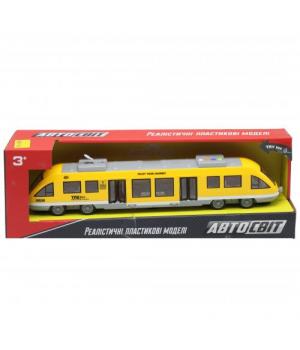 """Поезд игрушечный """"Автосвіт"""", желтый AS-2629"""