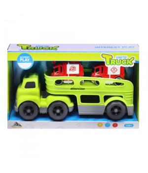 Автовоз с машинками, салатовый 933-153