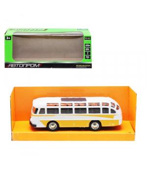 Игрушка автобус ЛАЗ, 1:32, металлический, свет,звук