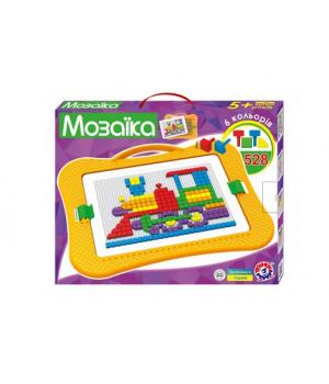 Мозаика для детей 5 лет, 528 элементов, Технок