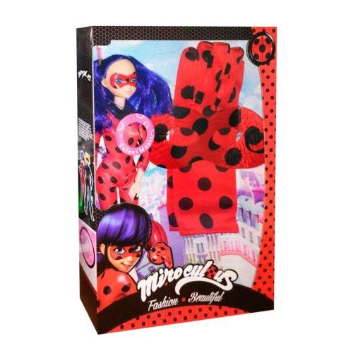 """Игрушка кукла """"Леди Баг"""" с маской и перчатками TM533A"""