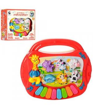 Музыкальная развивающая игрушка пианино, Е-Нотка, CY-6051B