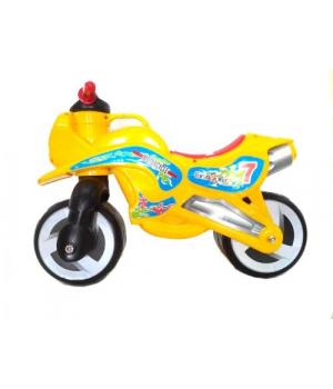 "Беговел Каталка ""Мотоцикл"" (оранжевый) KW-11-006 ОРА"