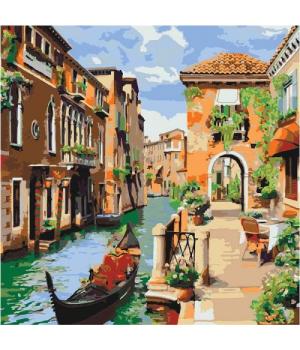"Картина по номерам ""Венецианское утро"" КНО2161"