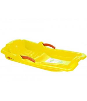 Санки SLEDGE WITH BRAKES (желтые) 6012