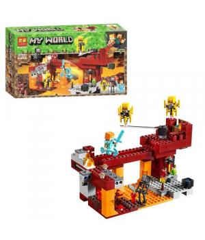 """Игрушка конструктор """"Minecraft - Майнкрафт - Майнкрафт. Мост Ифрита"""" (378 дет.) 11362"""