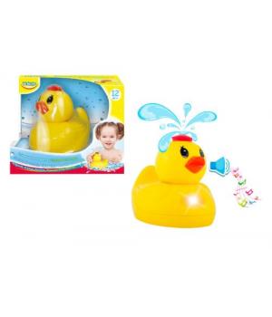 Игрушка для ванны уточка фонтан, со звуком