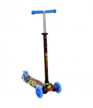 Детский трехколесный самокат синий, Best Scooter Maxi
