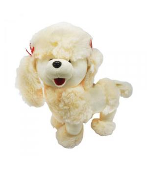 Мягкая игрушка собака Пудель (бежевый) 4028-26