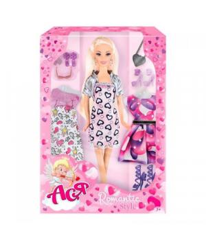 """Игрушка Кукла с одеждой Ася """"Romantic Style"""" 35094"""