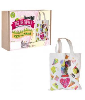 Детский набор для декупажа по ткани Эко-сумка