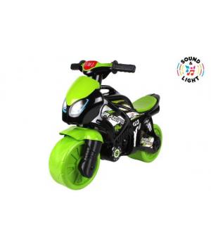 """Игрушка беговел """"Мотоцикл"""" зеленый 6474"""