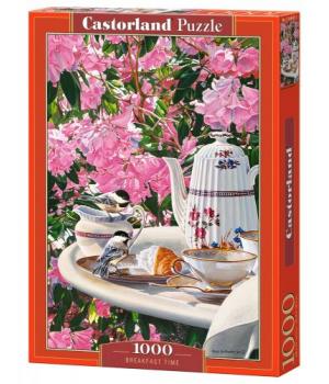 """Пазлы """"Время завтрака"""", 1000 элементов C-104697"""