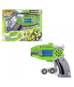 Пистолет проектор Dinosaur Gun 1401/2/3