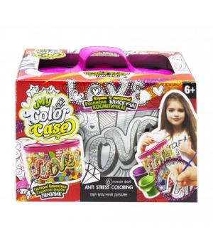"""Детская сумка раскраска """"My Color Casе"""" COC-01-04U"""