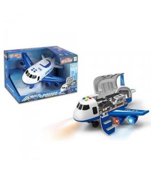 Самолет грузовой, синий 660A-242