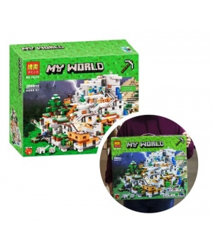 """Конструктор """"Minecraft"""", 2886 дет 10735"""