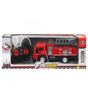 Игрушка пожарная машина на радиоуправлении, с подъемником 998-17 Y