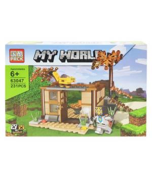 "Игрушка конструктор ""Minecraft - Майнкрафт - Майнкрафт. Беседка"", 231 дет 63047"