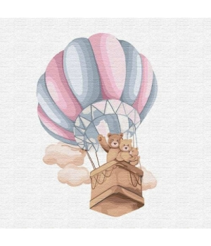 "Картина по номерам ""Семейный полёт"" ★★★ КНО2351 30х30 см"