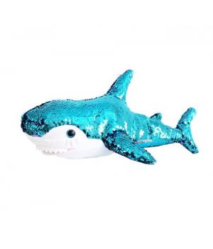 Мягкая игрушка «Акула» (блестящая), 49 см AKL01P