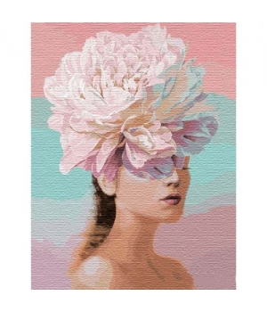 """Картина по номерам """"Цветочные мысли (big)"""" ★★★ КНО14765 50х65 см"""