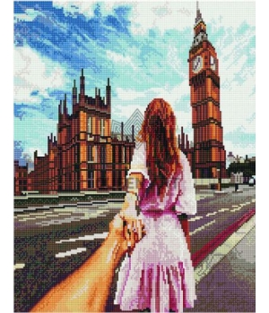 "Алмазная мозаика ""Лондон"" EJ1146"