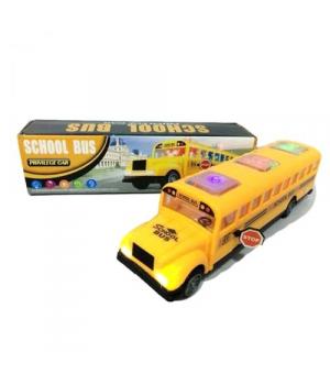Автобус школьный игрушка, свет, звук, на батарейках