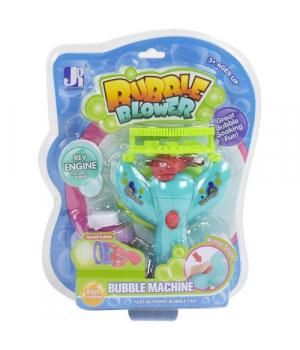 """Пистолет для мыльных пузырей на батарейках """"Bubble Machine"""", бирюзовый"""