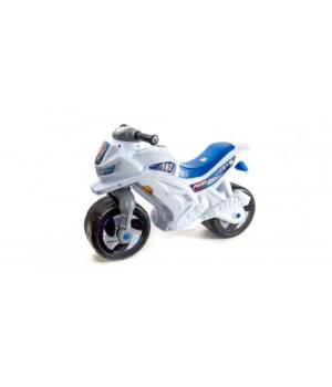 Детский мотоцикл толокар Полицейский, с сигналом, Орион