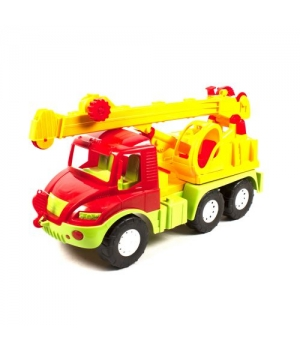 "Игрушка кран грузовик ""Автокран Атлантис"" (красная) 0640"