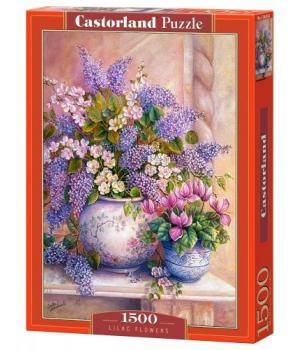"""Пазлы """"Вазы с цветами"""", 1500 эл С-151653"""