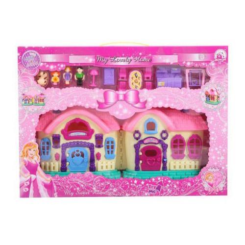 "Дом с мебелью и фигурками ""My Lovely Home"" BS899-5X"