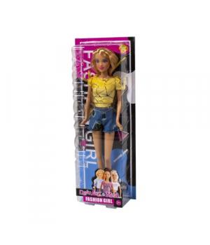 """Детская Кукла """"Defa Lucy"""", в желтой футболке 8400"""