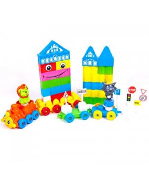 """Конструктор """"Baby Bricks"""" (64 детали) KW-02-302"""