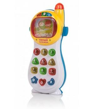 Умный телефон (бело-синий) 7028