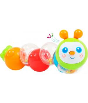 """Интерактивная игрушка-погремушка для малышей """"Гусеница"""" BeBeLino"""