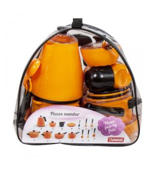 """Посудка детская игрушечная """"Cooking Set"""", (23 элементов), Юника"""