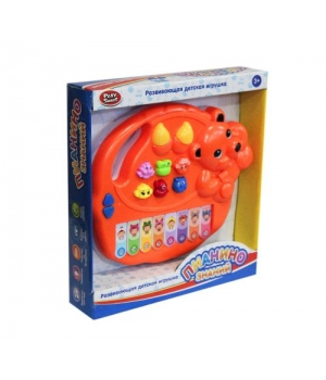 Маленькое пианино игрушечное, Мишка, Play Smart