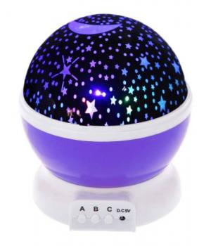 Детский ночник звездное небо, (фиолетовый) JDY705002938