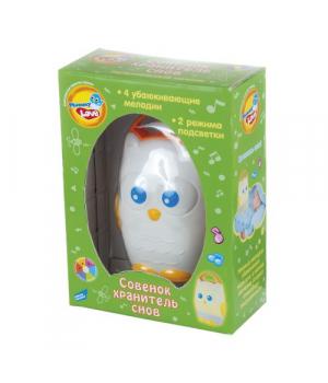 Детский ночник игрушка музыкальная «Совенок. Хранитель снов» 589A
