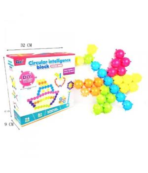 """Детская мозаика """"Circular Intelligence Block"""" 74 детали HC183392"""