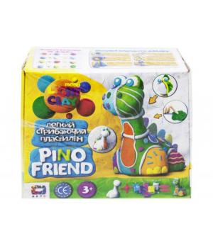 """Легкий пластилин набор """"Pino Friend: Динозаврик Бард"""" 70036"""