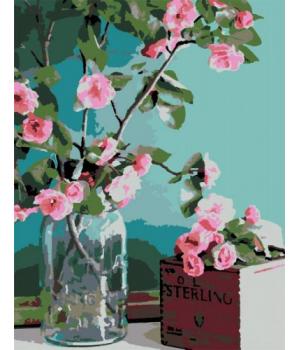 "Картина по номерам ""Нежность цветов"" ★★☆ N00013179 35х45 см"