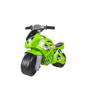 """Беговел Игрушка """"Мотоцикл"""" зеленый 6443"""