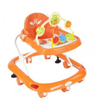 Ходунки детские для малышей, оранжевый цвет,  JOY 258