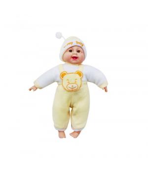 """Детский Пупс """"Хохотун"""", 33 см (жёлтый) X1428-1"""