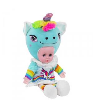 "Мягкая кукла ""Lovely Doll: Единорожек"" бирюзовый CY5002S/1S/4S"
